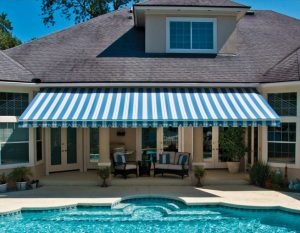 awnings by a randolph home