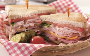 deli ham sandwiches are amazing