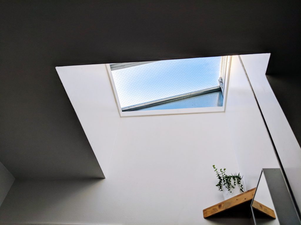 replace skylights with new roof