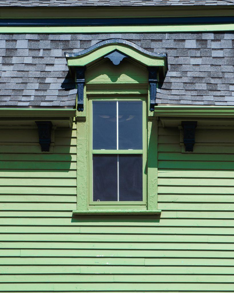 new roof shingles not flat